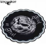 Alchemy Gothic Trick or Treat Ceramic Trivet